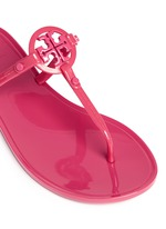''Colori' logo jelly thong sandals