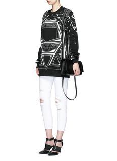 GIVENCHYGeometric star print sweatshirt