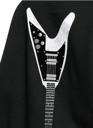 Detail View - Click To Enlarge - Acne Studios - 'Beta' guitar patch appliqué sweatshirt