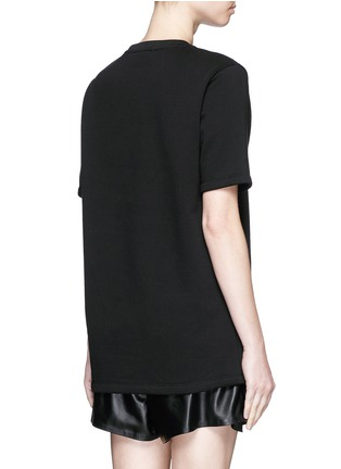 Back View - Click To Enlarge - Acne Studios - 'Eris' guitar patch appliqué T-shirt