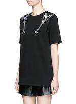 'Eris' guitar patch appliqué T-shirt