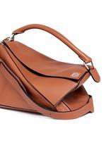 'Puzzle' calf leather bag