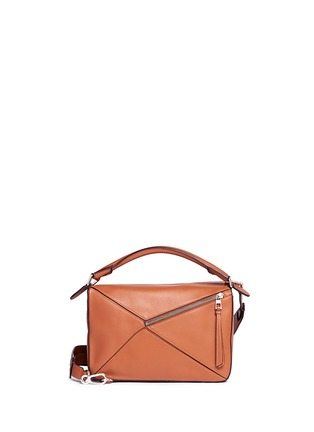 Back View - Click To Enlarge - Loewe - 'Puzzle' calf leather bag