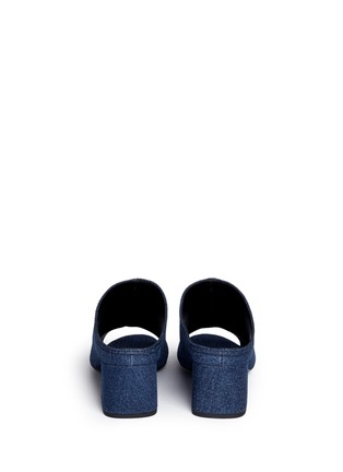 Back View - Click To Enlarge - 3.1 Phillip Lim - Open toe denim mules