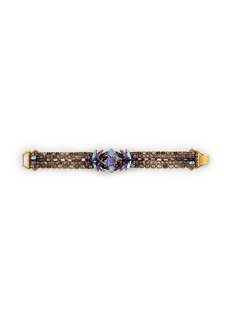 ERICKSON BEAMON 'Lady of the Lake' Swarovski crystal bracelet