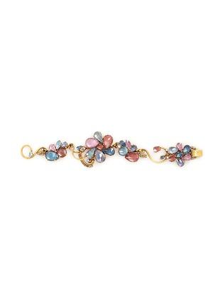 Erickson Beamon-'Botanical Garden' Swarovski crystal floral bracelet