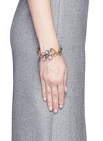 'Botanical Garden' Swarovski crystal floral bracelet