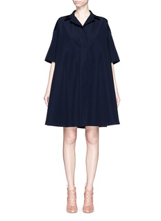 LANVIN Wing collar voluminous dress