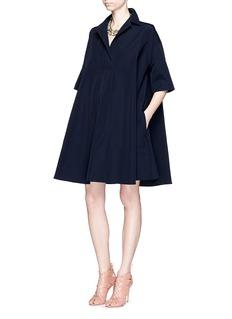 LANVINWing collar voluminous dress
