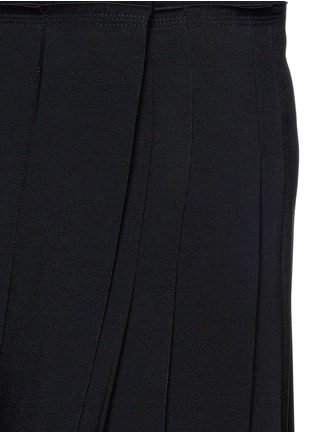 Detail View - Click To Enlarge - Chloé - Pleat crepe maxi wrap skirt