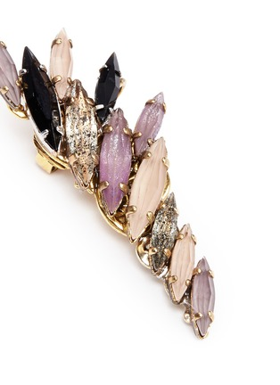Detail View - Click To Enlarge - Erickson Beamon - 'Fortune Hunter' crystal wing ear cuffs
