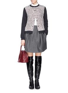 CARVENGuipure lace cotton cardigan