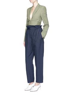 Stella McCartney'Benni' paperbag waist pants