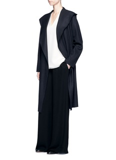 The Row'Marney' belted virgin wool blend coat