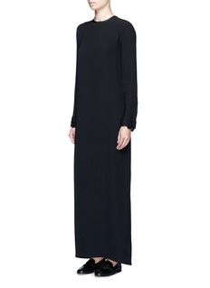 The Row'Jenna' bead embellished silk maxi dress