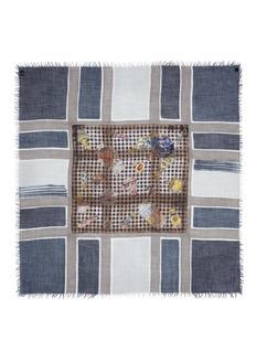 DIANORA SALVIATI'Pelago' vintage gucci perfume cashmere-silk scarf