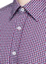 Detail View - Click To Enlarge - Canali - Star print cotton shirt