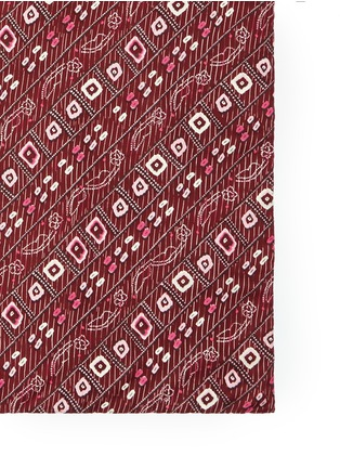 Detail View - Click To Enlarge - Isabel Marant - 'Feo' tribal print silk scarf