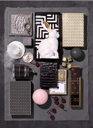 - L'Objet - Dedale small rectangle tray