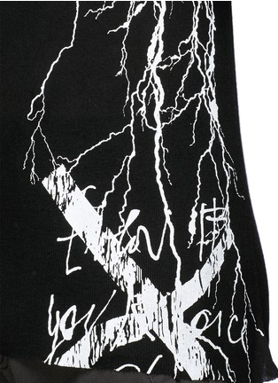 Detail View - Click To Enlarge - Haider Ackermann - Lightning print tank top