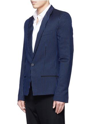 正面 -点击放大 - HAIDER ACKERMANN - 拼色竖纹混棉西服外套