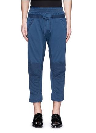 首图 - 点击放大 - HAIDER ACKERMANN - 不修边裤脚纯棉九分裤