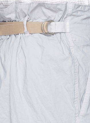 Detail View - Click To Enlarge - kolor - Elasticated back crinkle shorts