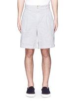 Elasticated back crinkle shorts