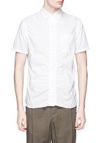 Wrinkle cotton poplin shirt