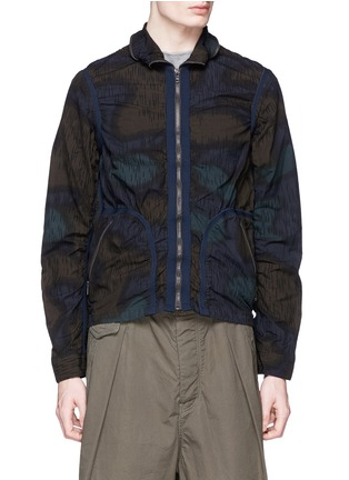 kolor - Camouflage print cotton blouson jacket