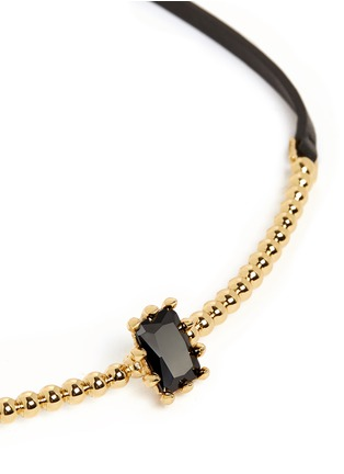 Detail View - Click To Enlarge - Eddie Borgo - 'Dome Estate Collar' crystal necklace