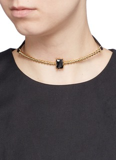 EDDIE BORGO 'Dome Estate Collar' crystal necklace