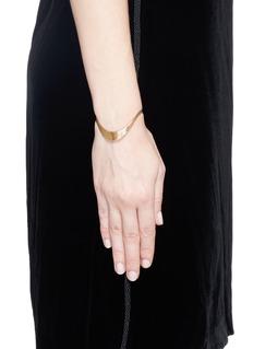 Fernando Jorge'Stream Lines Wave' 18k gold bracelet