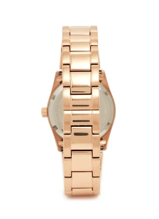 Back View - Click To Enlarge - CARAT* - Chelsea rose gold-tone (white) watch