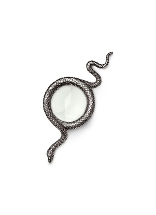 Main View - Click To Enlarge - L'Objet - Snake Magnifying Glass - Platinum
