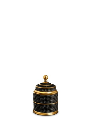 Main View - Click To Enlarge - L'Objet - Bibliotheque Candle Canister - Gold