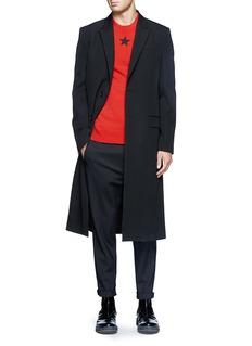 GIVENCHYSatin back panel tuxedo coat
