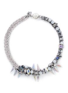 ASSAD MOUNSERCrystal vine spike necklace