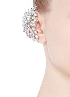 ASSAD MOUNSERCrystal flower single earcuff