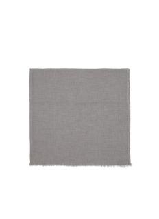 FALIERO SARTI'Azzurra' frayed scarf