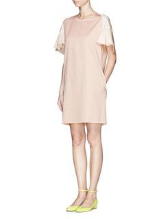 SEE BY CHLOÉPoplin petal sleeve dress