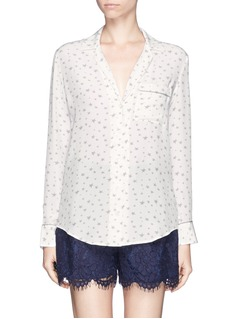 EQUIPMENT 'Keira' star print silk shirt