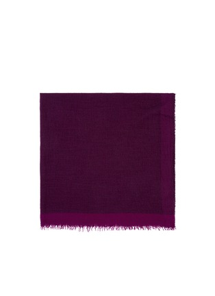 Main View - Click To Enlarge - Faliero Sarti - 'Morghy' cashmere-modal eyelet edge scarf