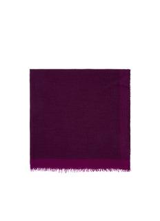 FALIERO SARTI'Morghy' cashmere-modal eyelet edge scarf