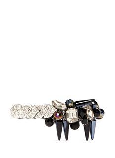 ASSAD MOUNSERRhinestone vine spike bracelet