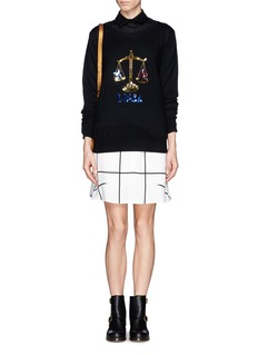 MARKUS LUPFER 'Libra' sequin sweater