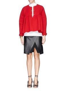 MS MINCrop babydoll jacket