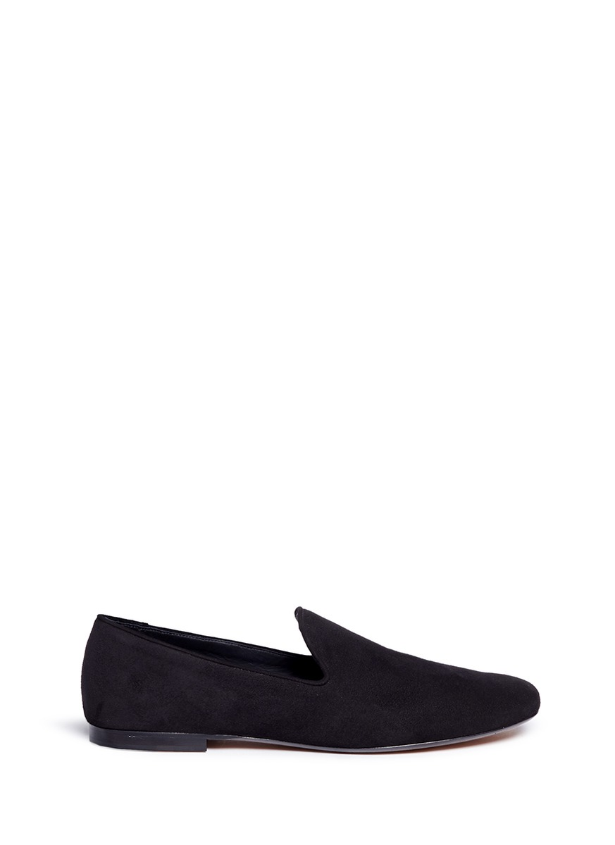 Bray square toe suede slip-ons by Vince