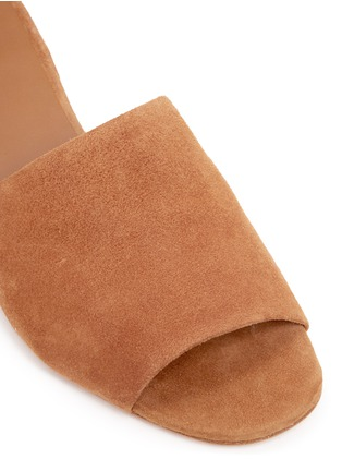 Detail View - Click To Enlarge - Vince - 'Rachelle' suede mules