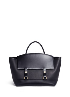 Sacai Two-way cowhide leather tote